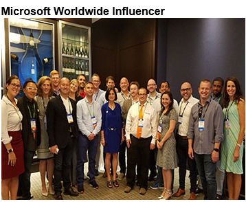 Microsoft Worldwide Influencer